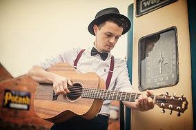 Ash Francis acoustic wedding singer.