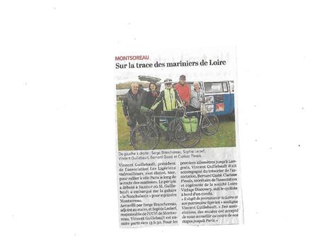 Montsoreau : Sur la trace des mariniers de Loire