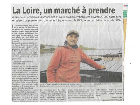 Tourisme : des milliers de passagers sur la Loire. La Loire, un marché touristique à prendre