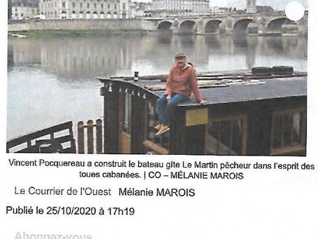 Un bateau gîte - Le Martin Pêcheur