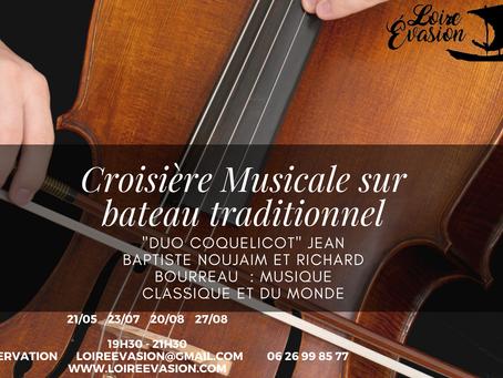 Croisière musicale sur Mademoiselle