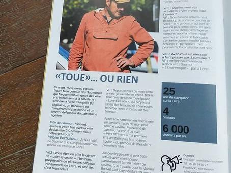 Toue ou rien - Magazine Saumur Val de Loire