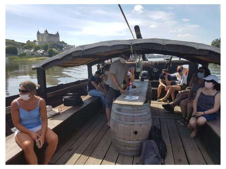 Saumur. Le plaisir retrouvé de naviguer sur le Loire