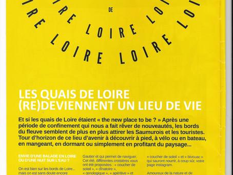 LES QUAIS DE LOIRE (RE) DEVIENNENT UN LIEU DE VIE