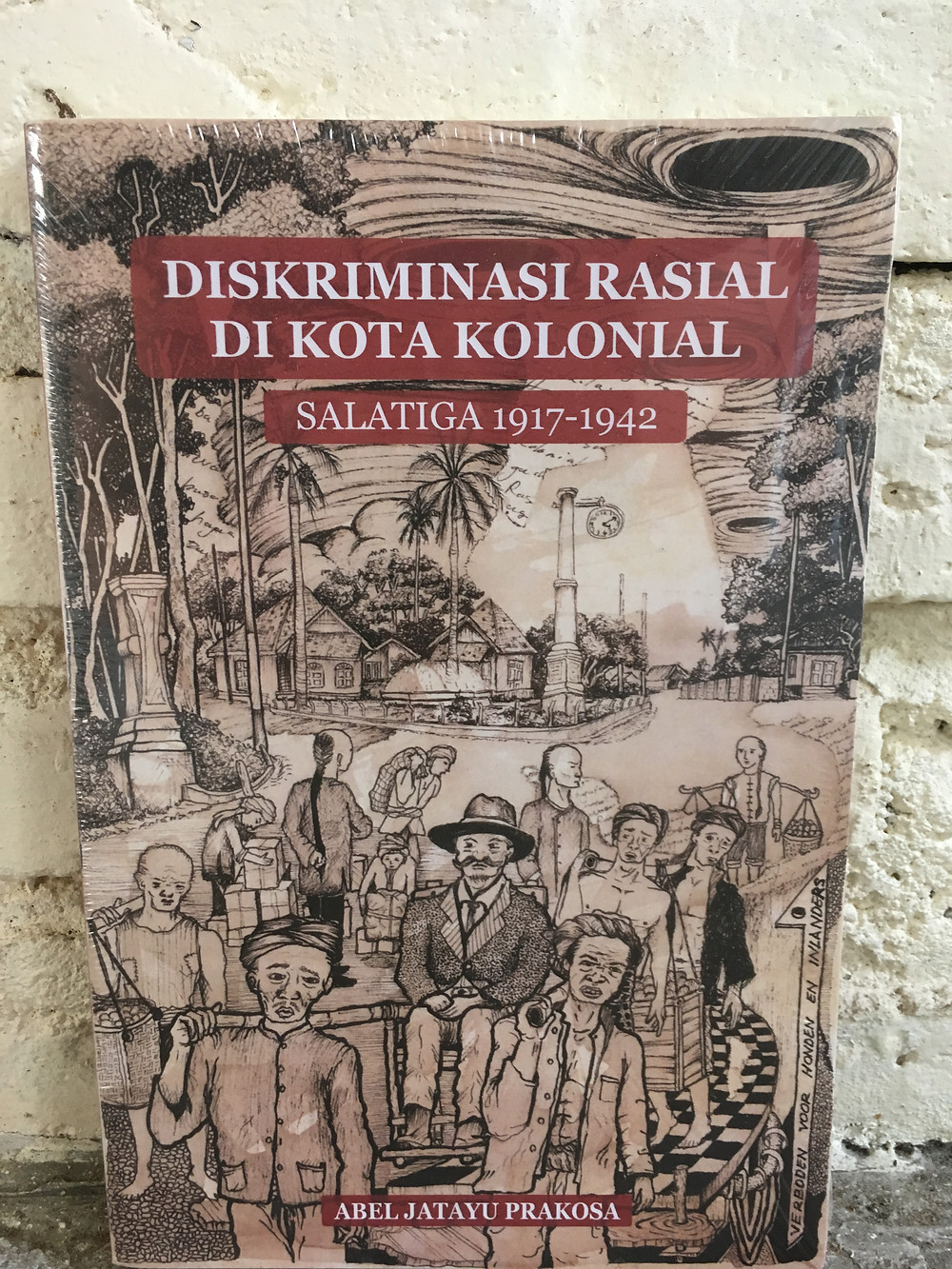 book, cover of book, colonial history