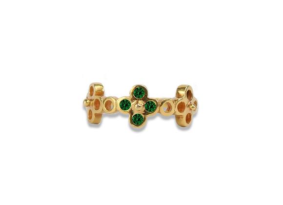 Gold Vermeil Single Gardenia ring