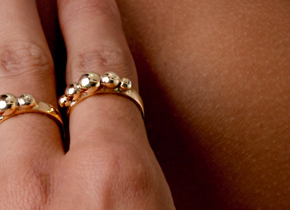Gold Tropicale Corona ring