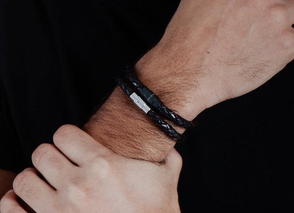Short 6mm 'Classic Leather' bracelet