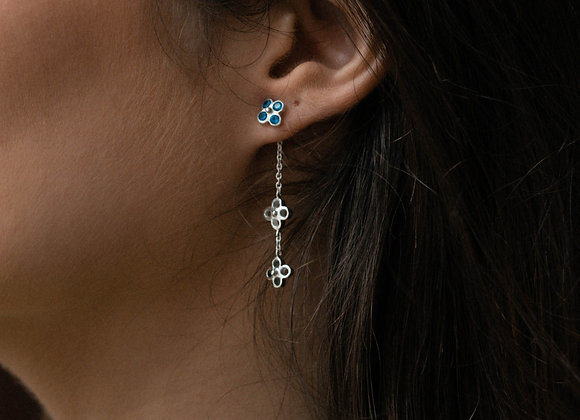 Double Fiore earring adapter