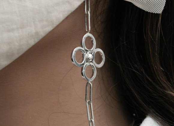 Fiore Sillhouette eyewear/facemask/necklace chain