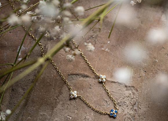 Triple Fiore necklace