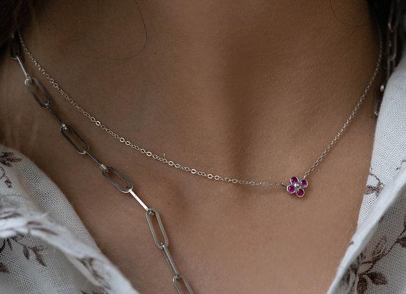 Single Fiore necklace