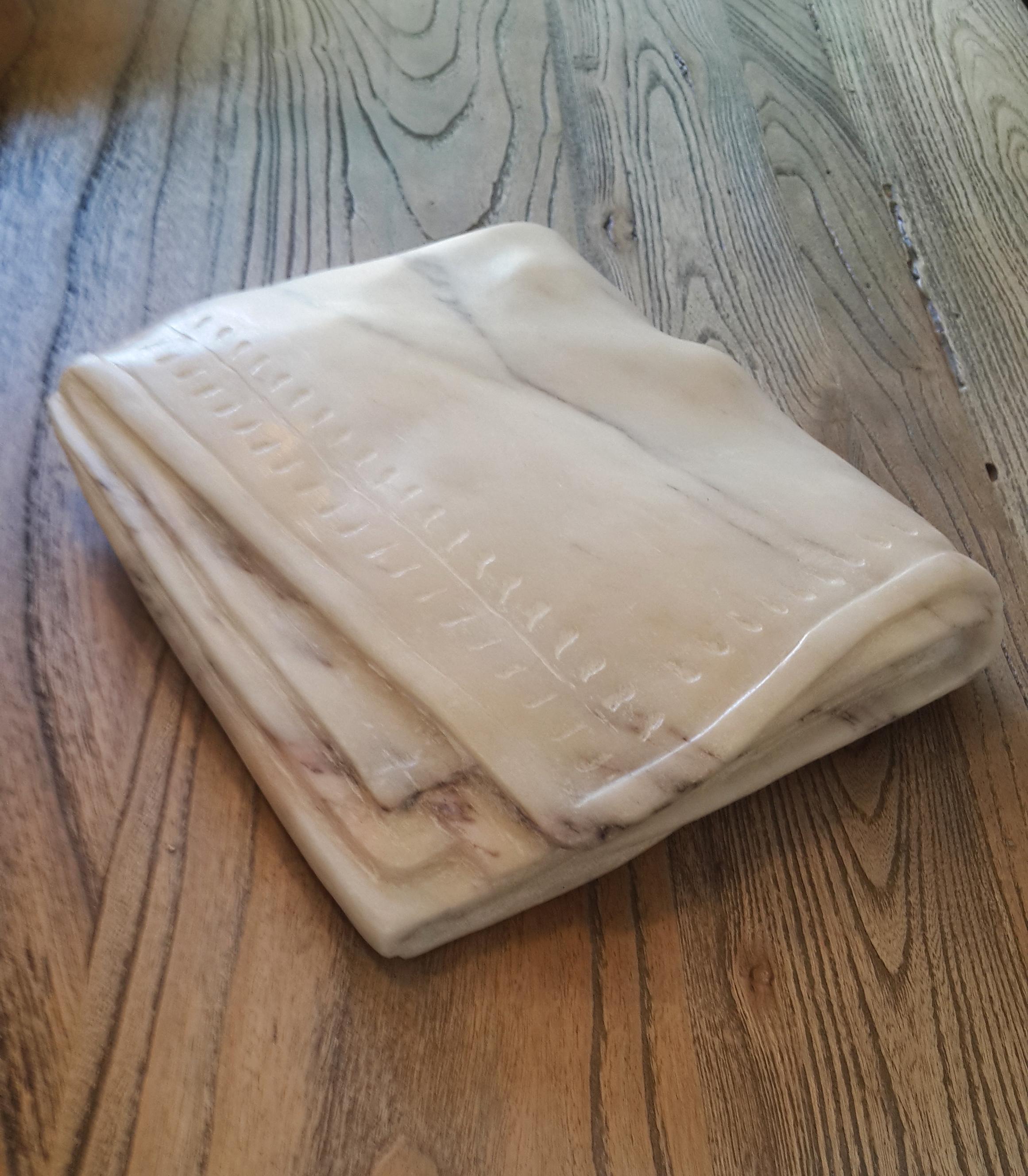 Towel/marble / 21x19