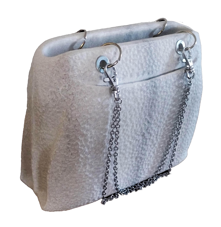 Hand Bag /Local Stone / 24x20x8
