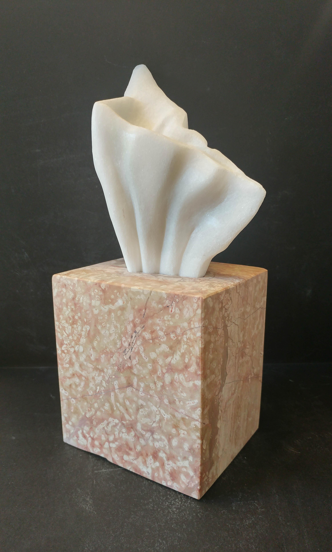 Tissue box / marble / 12x27x10