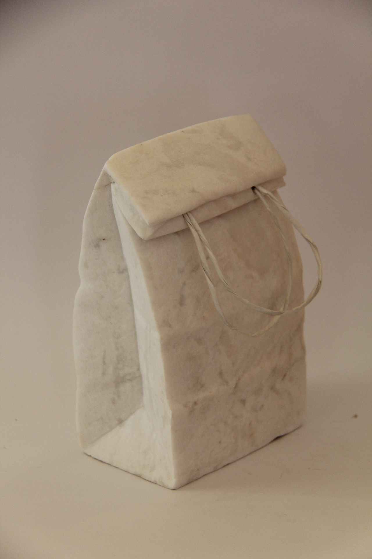 Shopping bag / marble / 25x9