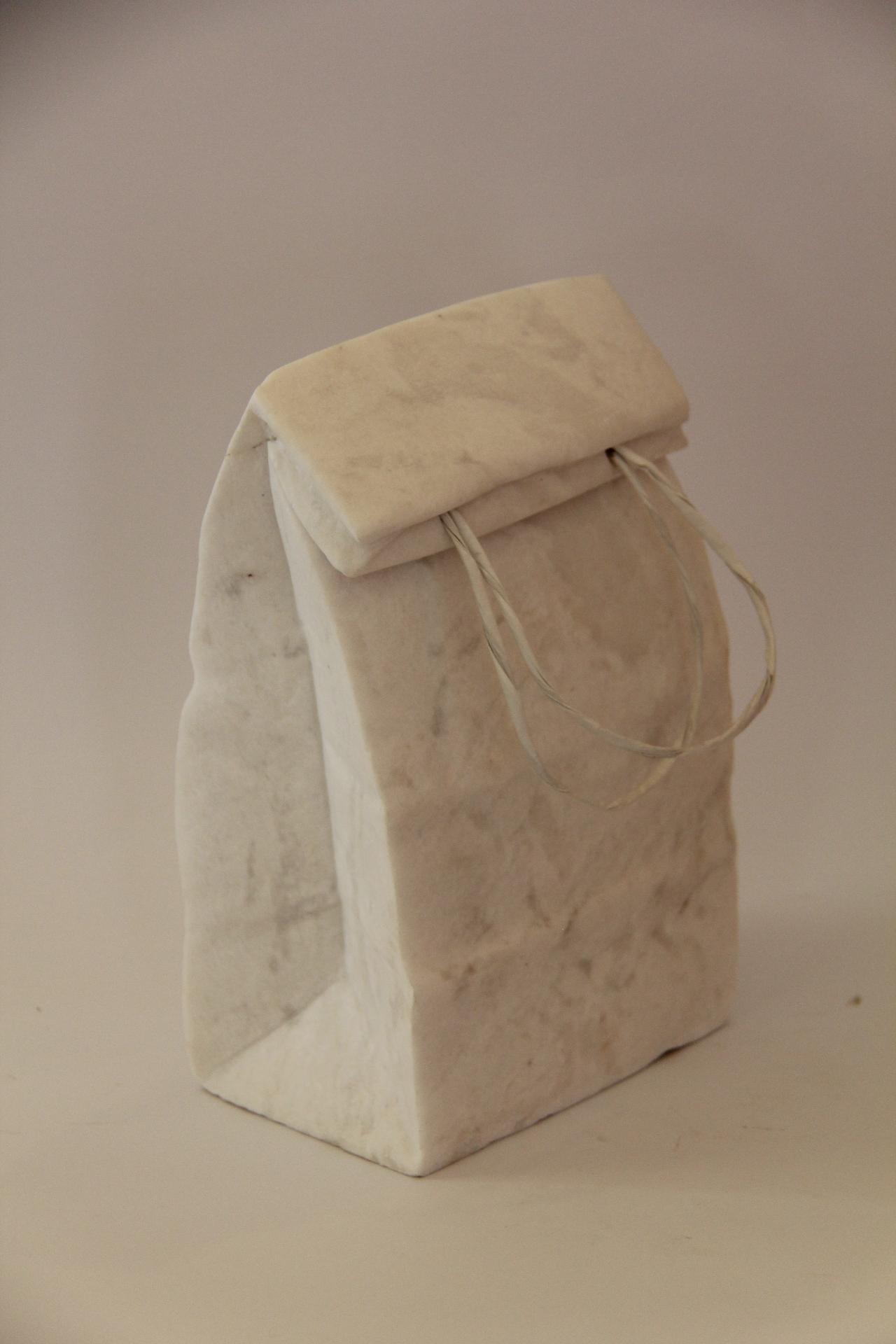 Shopping bag/marble/ 25x9