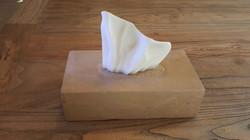 Tissue Box/marble / 20x25x13