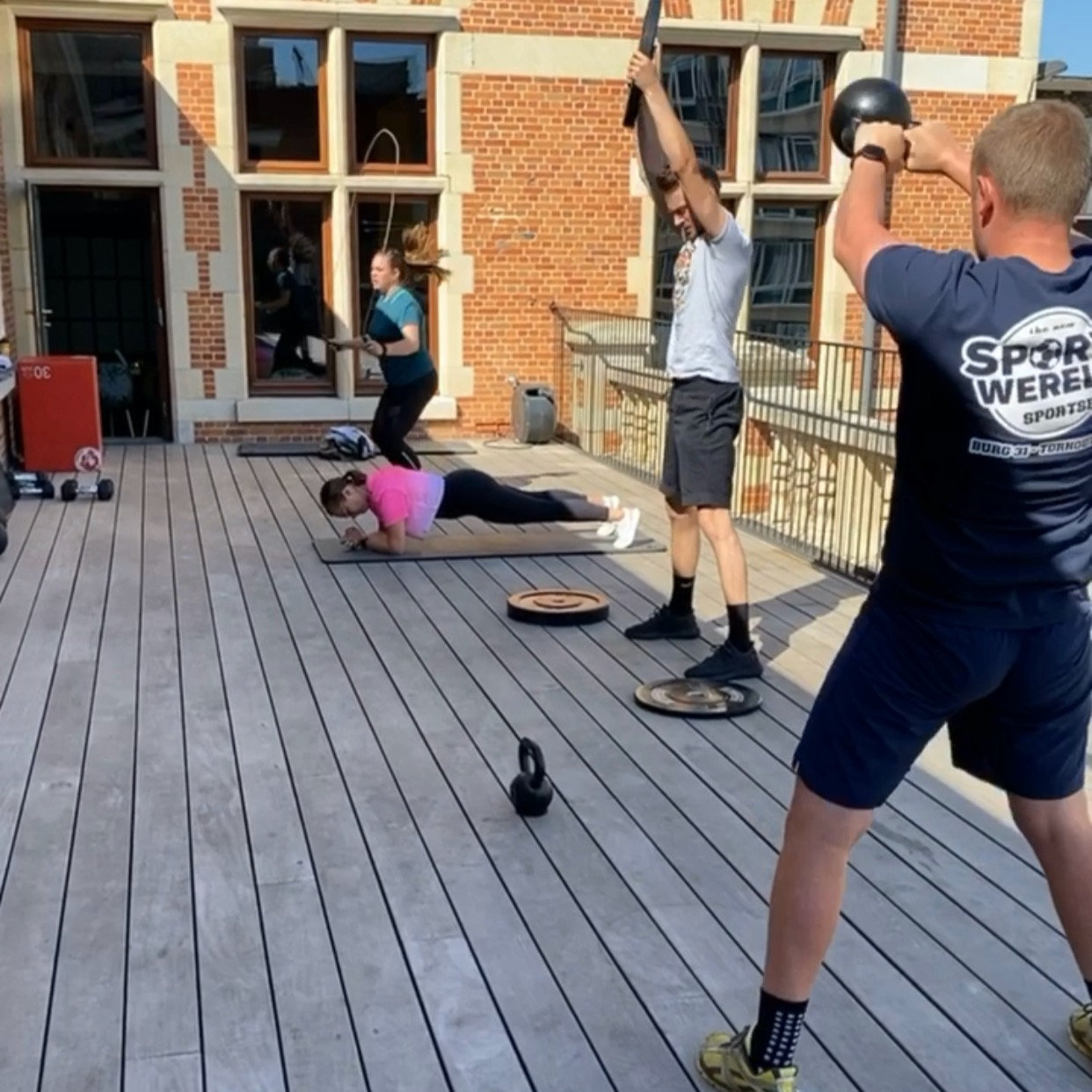 Small group workout (outdoor)