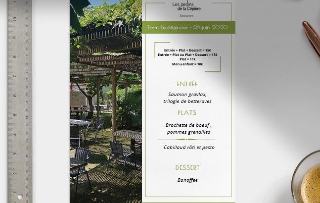 Les Jardins de la Cépière - Restaurant