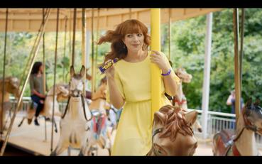 Cadbury Twirl Girl