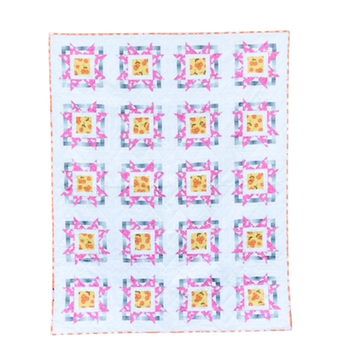 Pop Star  - Twin Size Quilt
