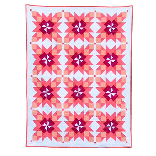 Wildfire - Twin Size Quilt