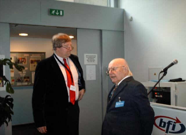 Dir. Burda und Prof. Zemanek