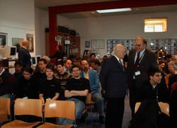 Prof. Heinz Zemanek im Auditorium