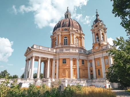 Basilica di Superga em Turim, Itália: uma aventura para ter a vista mais linda dos Alpes