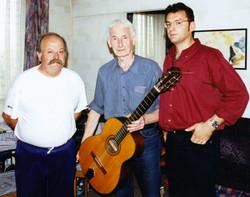 Bruno Granier Claude Duguet et PierreLouki