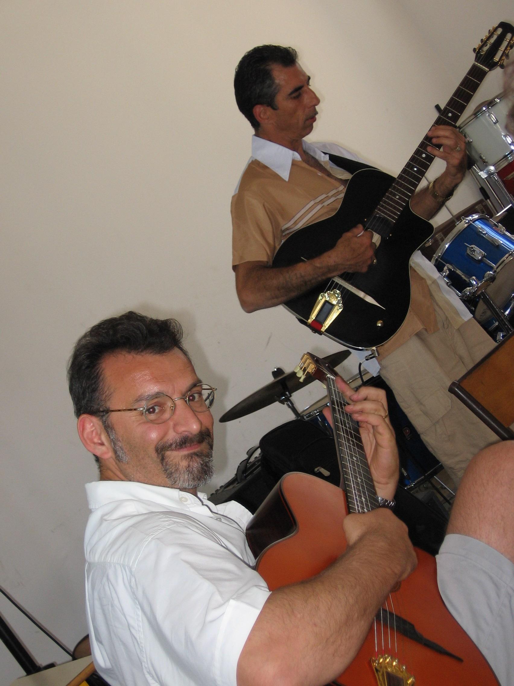 B Granier et Angelo Debarre