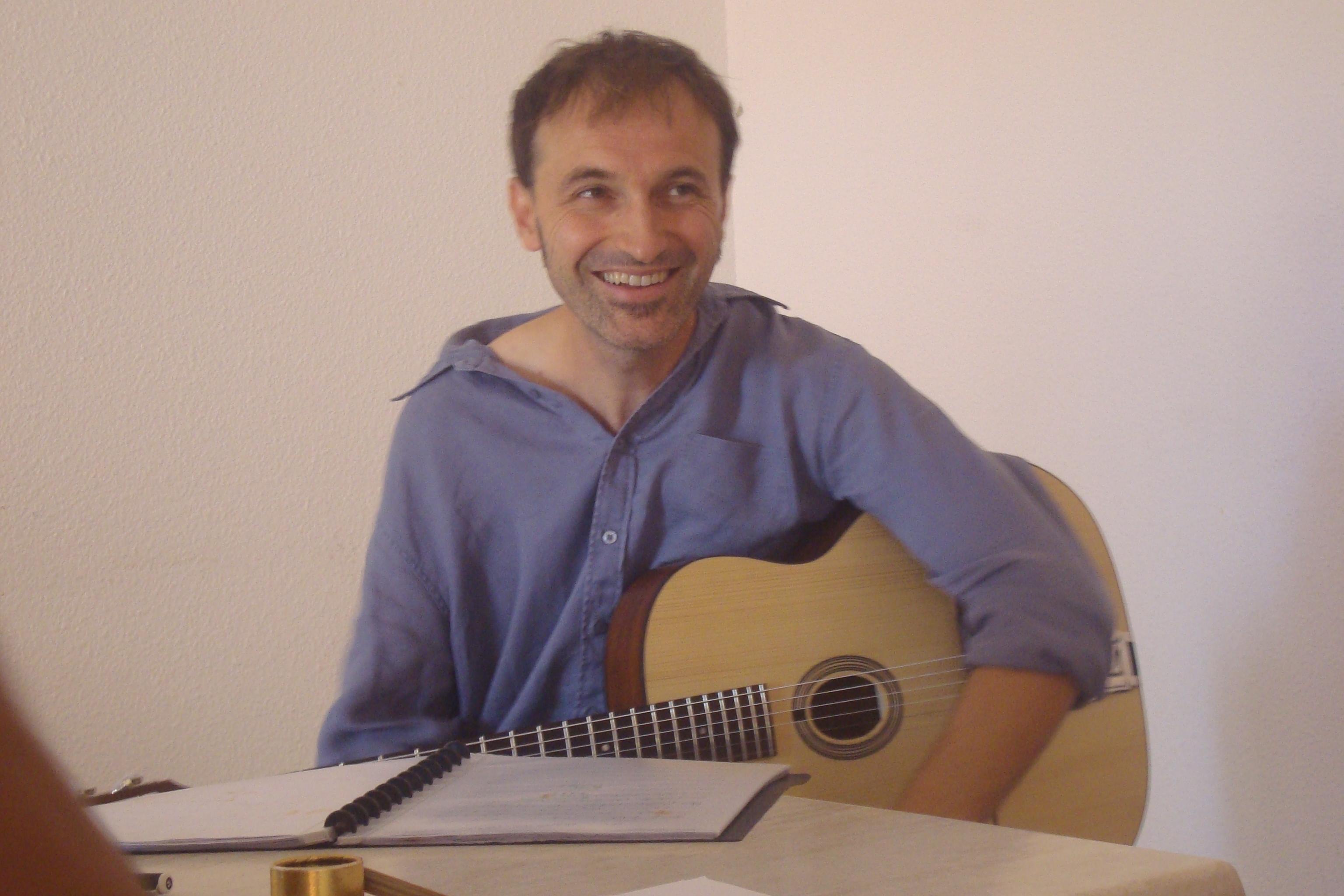 Philippe Lafon en répétition