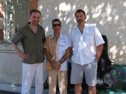 Avec Angelo Debarre
