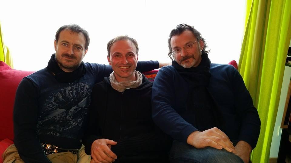 JM Sauvagnargues Philippe Lafon et Bruno Granier
