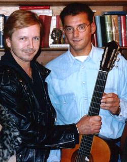 Renaud avec Bruno 22-09-1994