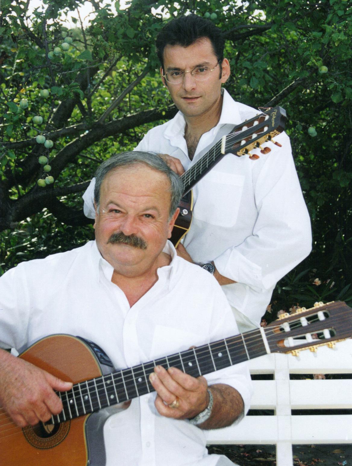 Bruno Granier avec Claude Duguet
