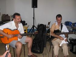 Bruno Granier et Angélo Debarre