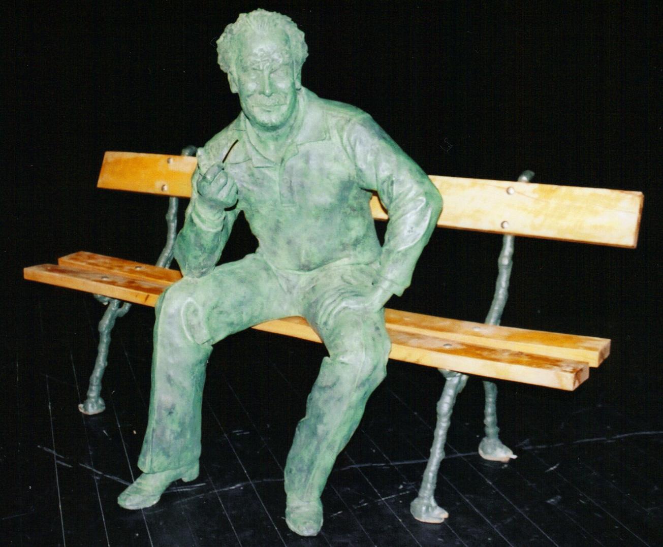 Statue Brassens