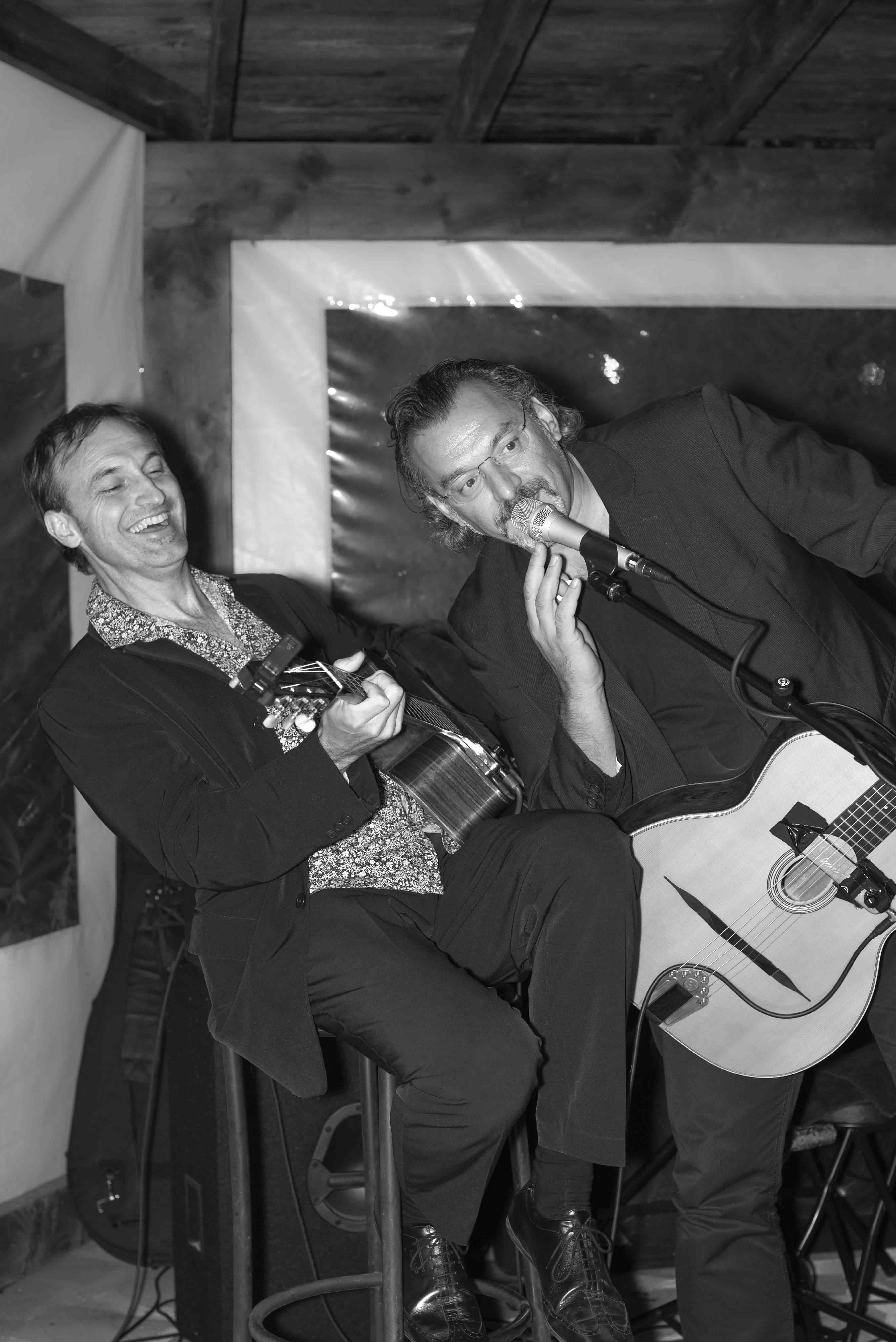 Philippe Lafon et Bruno Granier