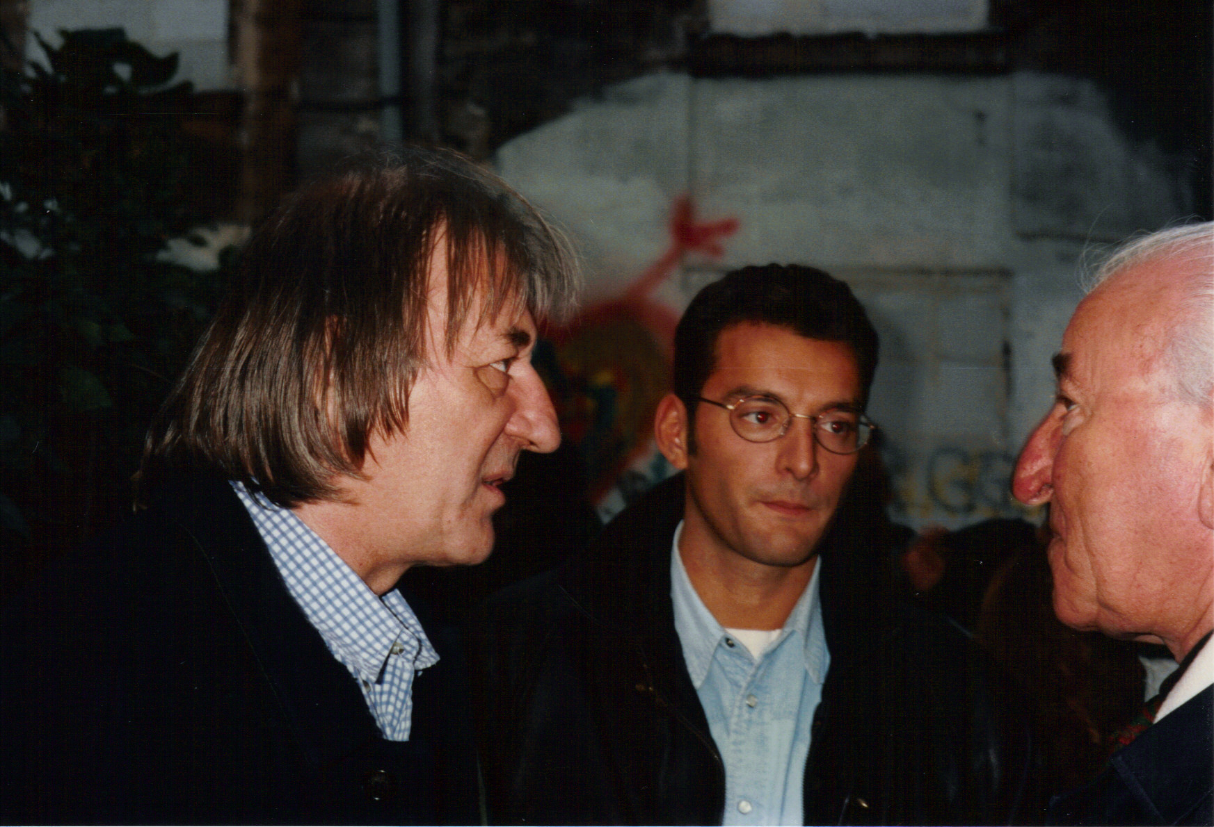 Eric Zimmermann Bruno Granier Henry Colpi 22-09-1994