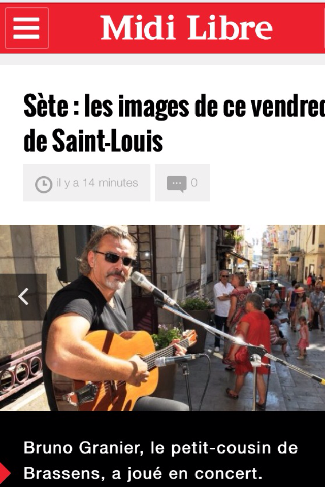 Saint - Louis 2015 Sète