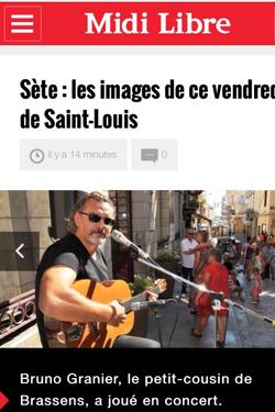 Saint - Louis 2015 Sète