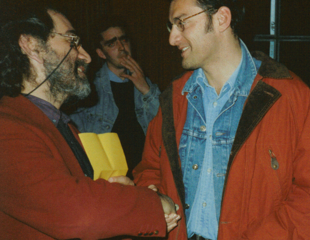 Bruno Granier et Marcel Dadi 1995 Le Boulou