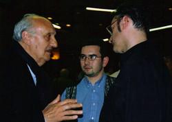 Bruno Granier avec Pierre Tchernia
