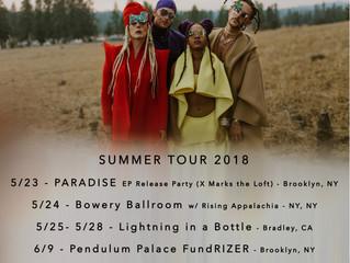SUMMER TOUR - 2018