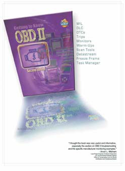 BOOK: Getting To Know OBD II