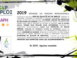 Toute l'équipe d'Actiphe-Sime vous présente ses meilleurs vœux pour 2019 !