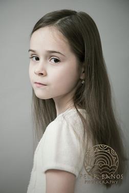 Portrét malého dievčatka