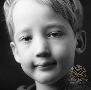 Portrét chlapca.